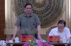 Ông Phạm Minh Chính biểu dương Thanh Hóa tổ chức tốt Đại hội các cấp