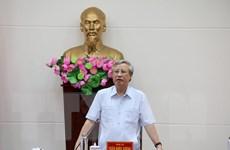 Đảng bộ Bình Thuận cần quan tâm thường xuyên công tác xây dựng Đảng