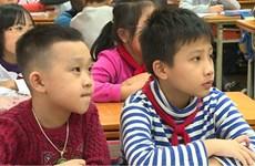 Hà Nội: Hơn 3.000 học sinh dự tuyển lớp 6 chương trình song bằng