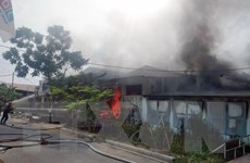 Hai đám cháy lớn gây thiệt hại về người và tài sản đã được khống chế