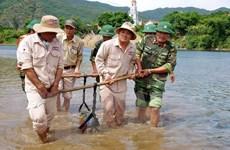Quảng Bình: Hủy nổ an toàn quả bom được phát hiện trên sông Gianh