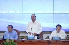Thủ tướng làm việc với lãnh đạo TP.HCM về giải ngân vốn đầu tư công