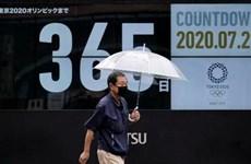 Màn pháo hoa đếm ngược một năm đến Olympic mùa Hè Tokyo