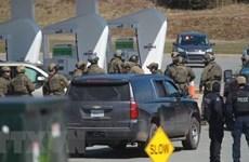 Canada điều tra công khai vụ xả súng ở tỉnh Nova Scotia