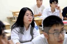Hà Nội: Đảm bảo điều kiện phòng, chống dịch ở 143 điểm thi tốt nghiệp