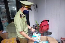 Liên tục thu giữ nhiều lô khẩu trang không rõ nguồn gốc tại Đà Nẵng