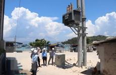 Bình Định: Hoàn thành kéo 10km cáp ngầm xuyên biển ra xã đảo Nhơn Châu