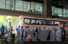 Dịch COVID-19: Đưa 230 công dân Việt Nam từ Hàn Quốc về nước an toàn