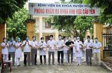 Ninh Bình có thêm 3 bệnh nhân được công bố khỏi bệnh COVID-19