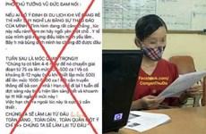 Triệu tập người đăng tin sai sự thật về phát ngôn của Phó Thủ tướng