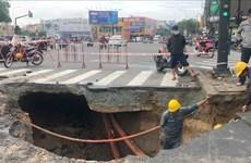 """Thành phố Hồ Chí Minh khẩn trương khắc phục các """"hố tử thần"""""""