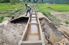 Kiểm tra công trình thủy lợi trăm tỷ chưa nghiệm thu đã hỏng