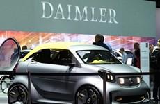 Hãng ôtô Daimler chi 2,2 tỷ USD để giải quyết bê bối gian lận khí thải