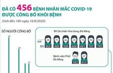 [Infographics] Đã có 456 bệnh nhân COVID-19 được công bố khỏi bệnh