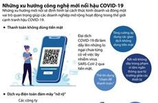 [Infographics] Những xu hướng công nghệ mới nổi hậu COVID-19