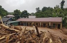 Điện Biên: Sau mưa lớn, xảy ra lũ ống, lũ quét tại huyện Nậm Pồ