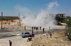 Syria: Nổ lớn trên tuyến đường tuần tra chung Nga-Thổ ở Idlib