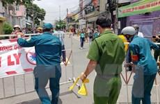 Dịch COVID-19: Dỡ bỏ phong tỏa tuyến đường Hồ Văn Đại ở Đồng Nai