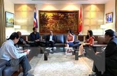 Việt Nam-Thái Lan đẩy mạnh hợp tác về thú y và kiểm dịch động vật