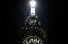 Tòa tháp biểu tượng ở Tokyo thắp sáng sắc màu của Paralympic