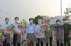 Dỡ bỏ cách ly y tế tại tổ dân phố Đình Tràng, thành phố Phủ Lý