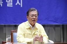 Ông Moon Jae-in kêu gọi thúc đẩy phục hồi kinh tế và chống COVID-19