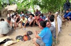 An Giang triệt phá sới bạc ở biên giới, bắt giữ 27 đối tượng liên quan