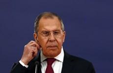 Ngoại trưởng Nga-Belarus điện đàm về sớm bình thường hóa ở Belarus