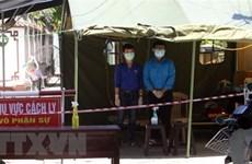 Quảng Nam không còn khu vực nào bị cách ly vì dịch COVID-19