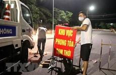 Các điểm phong tỏa tại tỉnh Quảng Trị đều đã được dỡ bỏ