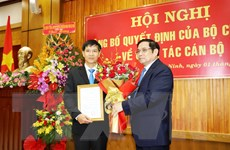 Công bố Quyết định chuẩn y chức vụ Bí thư Tỉnh ủy Tây Ninh