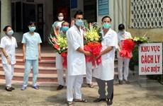 Tất cả 8 bệnh nhân điều trị COVID-19 tại Nam Định đã được xuất viện