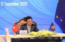 ASEAN 2020: Các Hội nghị Bộ trưởng Ngoại giao ASEAN-Ấn Độ và ASEAN-EU