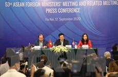 Xây dựng ĐNA hòa bình, thịnh vượng, thể hiện vai trò trung tâm ASEAN