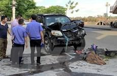 Nam Định: Va chạm giữa ôtô và xe máy, hai người tử vong