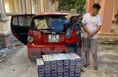 Công an tỉnh Bình Phước tạm giữ 1.490 bao thuốc lá nhập lậu
