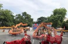 13 đội tham gia trình diễn nghệ thuật múa Rồng-Hà Nội năm 2020