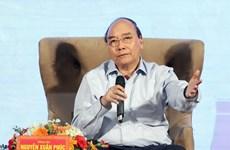 Thủ tướng Chính phủ Nguyễn Xuân Phúc đối thoại với nông dân Việt Nam