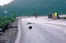 Sơn La: Hai xe máy đối đầu trên Quốc lộ 6, hai người tử vong