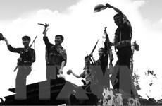 Du kích Thông tấn xã Giải phóng diệt xe tăng của đế quốc Mỹ