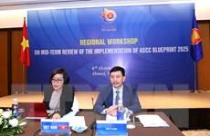 Đánh giá giữa kỳ kế hoạch tổng thể Cộng đồng Văn hóa-Xã hội ASEAN