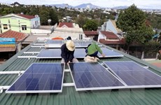 Điện Mặt Trời mái nhà phát triển mạnh ở các tỉnh phía Nam