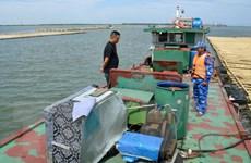 Tạm giữ hơn 20.000 lít dầu DO không rõ nguồn gốc ở biển Hải Phòng