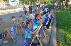 """Cuộc thi vẽ tranh """"Em yêu Hà Nội - Thành phố vì hòa bình"""""""