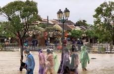 Quảng Nam sơ tán dân cư ở vùng trũng thấp để ứng phó với mưa lũ