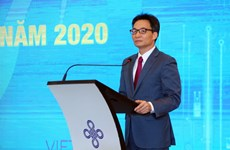 Phó Thủ tướng Vũ Đức Đam dự lễ trao giải Cuộc thi khởi nghiệp năm 2020