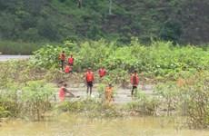 Bình Phước: Hỗ trợ, động viên gia đình hai nạn nhân bị nước cuốn trôi