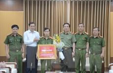 Chủ tịch Đà Nẵng khen thưởng Ban chuyên án phá đường dây đánh bạc