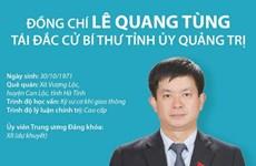 [Infographics] Ông Lê Quang Tùng tái đắc cử Bí thư Tỉnh ủy Quảng Trị