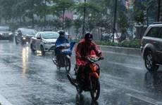 Bắc-Trung Trung Bộ mưa to kéo dài, Tây Nguyên-Nam Bộ mưa dông